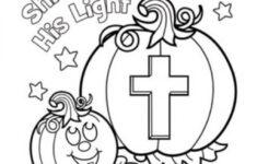 Catholic Halloween Worksheets