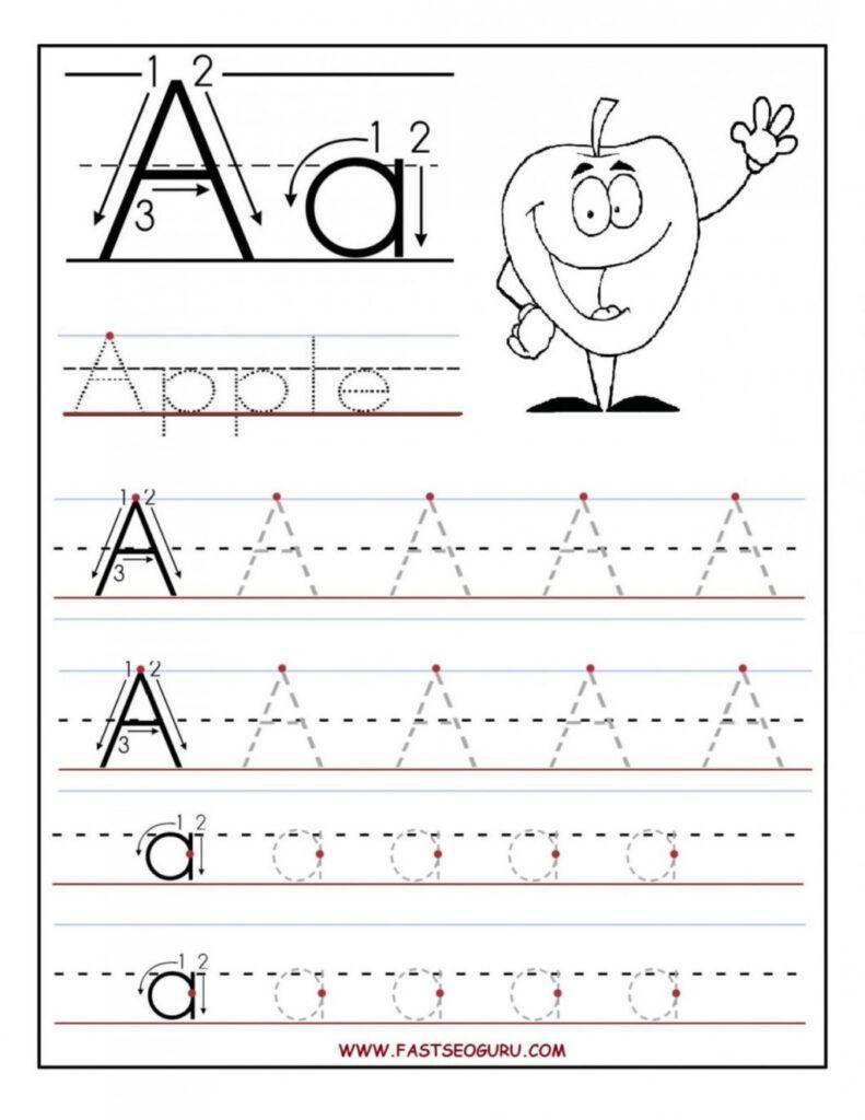 Worksheet ~ Worksheet Letter Tracing Worksheets Trace Regarding Alphabet Tracing Large
