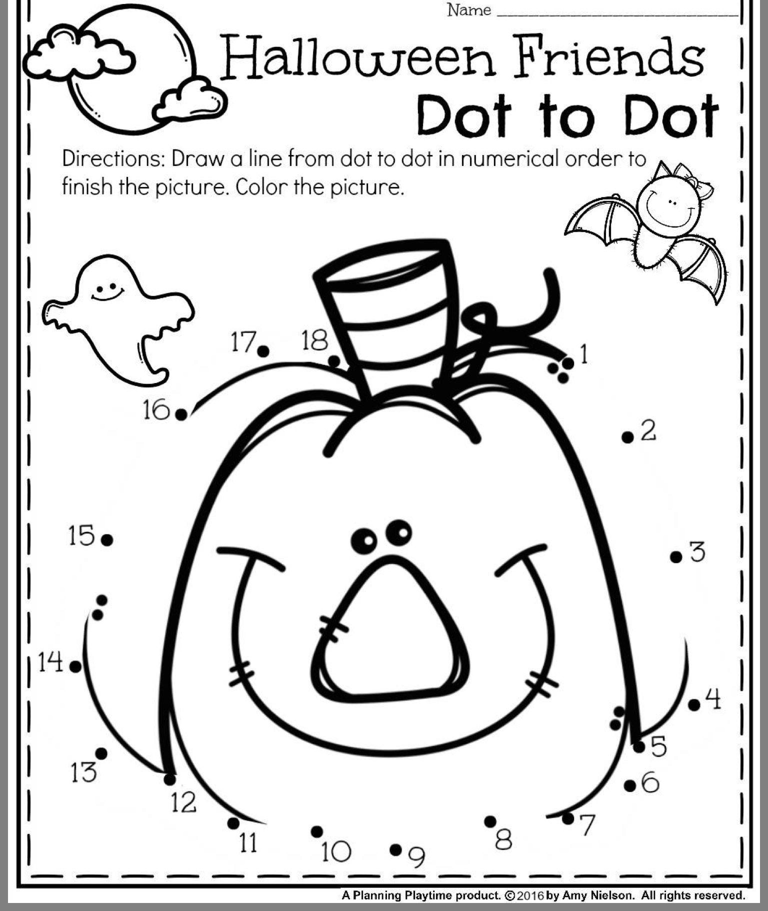 Worksheets : Best Kindergarten Halloween Counting Worksheets