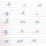 Worksheets : Cursive Writing For Kids Small Letters Neat