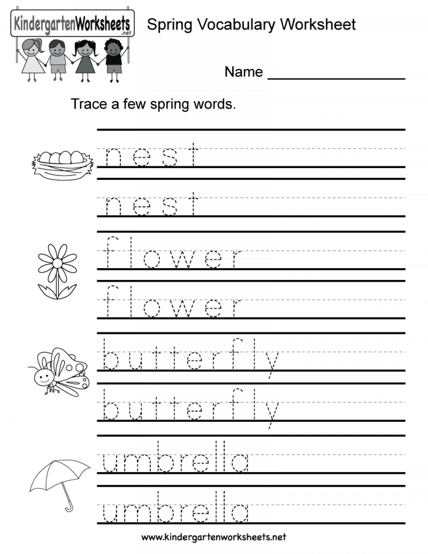 Worksheets : Name Tracing Worksheets Educations Free