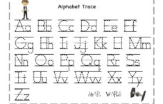 Halloween Themed A-z Letter Tracing Worksheets