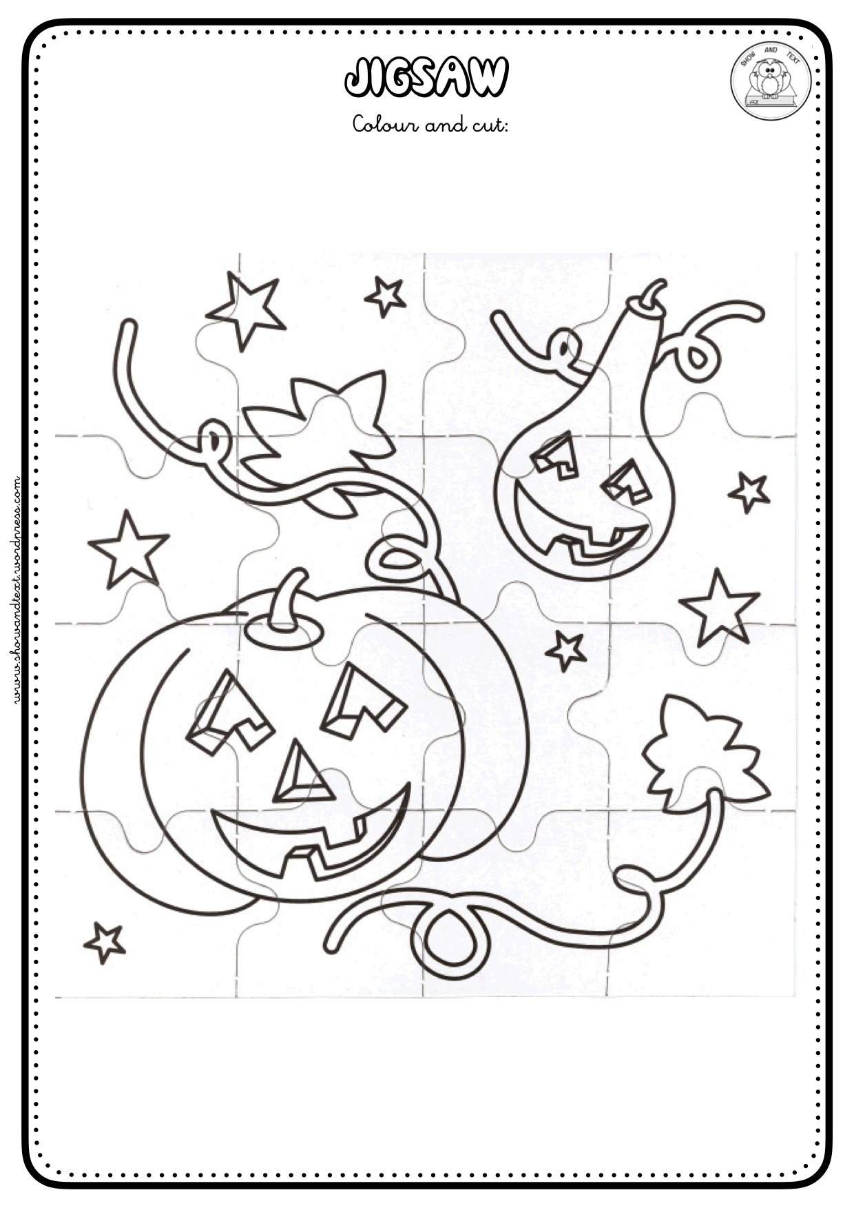 Worksheets Show And Text Wonder Movie Halloween Blog Mixed