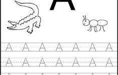 Children's Letter Tracing Worksheets