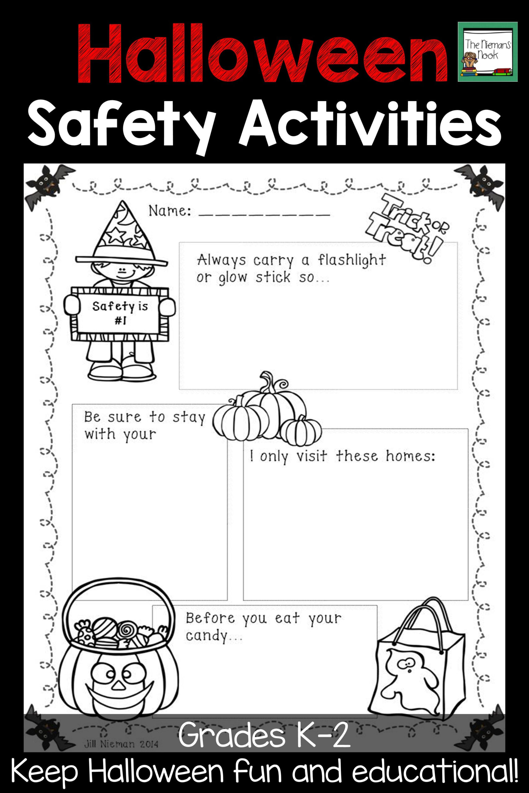 Your Students Will Love Learning About Halloween Safety With