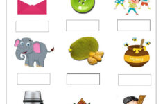 Hindi 2 Letter Words Worksheets With Pictures