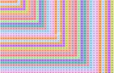 Multiplication Chart 32×32