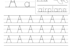 Printable Traceable Letters