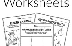 Christmas Pre Algebra Worksheets