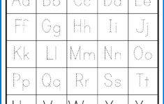 Upper And Lowercase Letters Printable