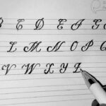 Cursive Writing A2Z (Capital Letter)Learn Calligraphy In Easy Steps