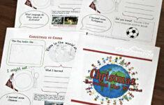 Christmas Around The World Worksheet Pdf