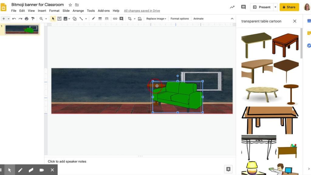 How To Make A Bitmoji Banner For Google Classroom