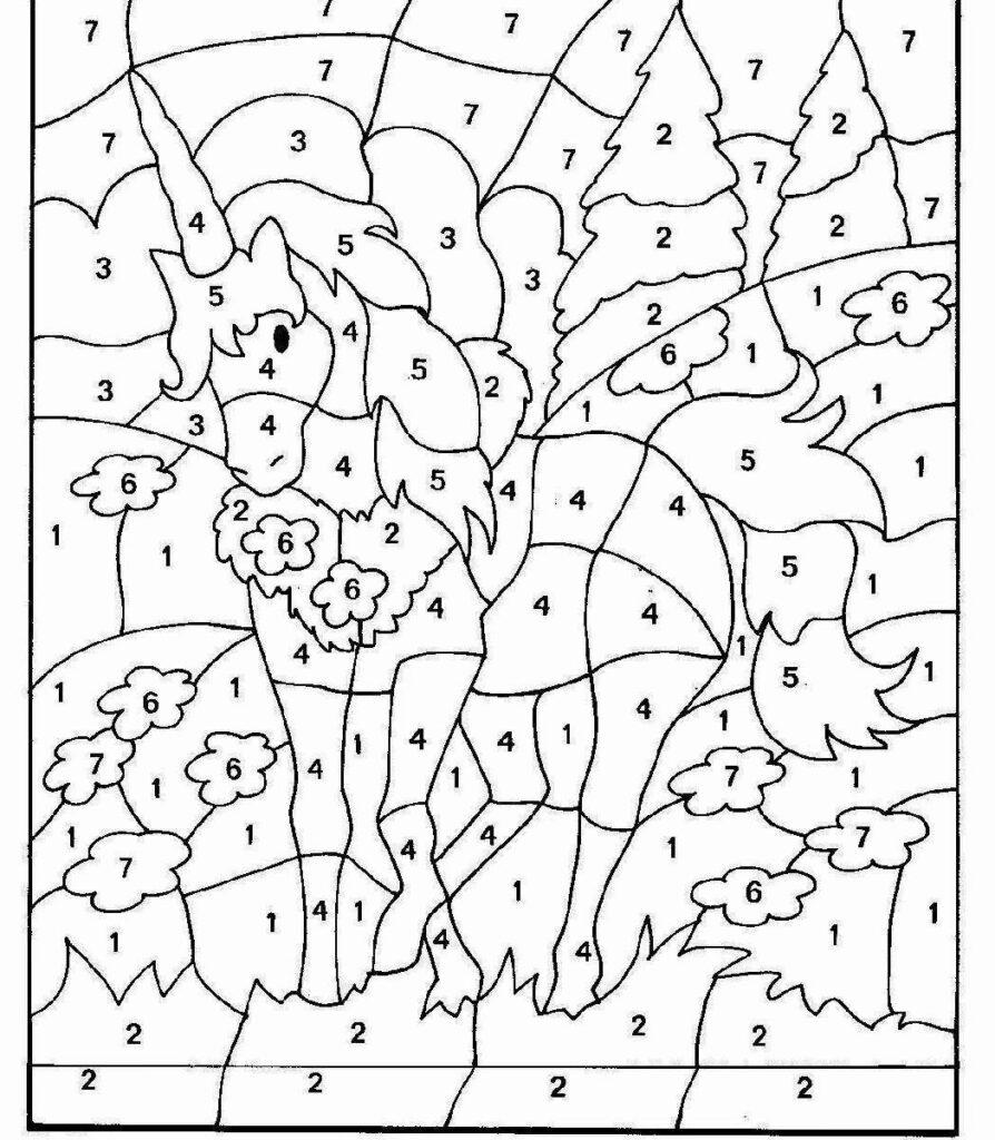 Incredible Free Printable Multiplication Coloring Worksheets