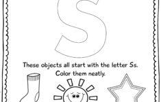 Letter S Worksheets For Preschool