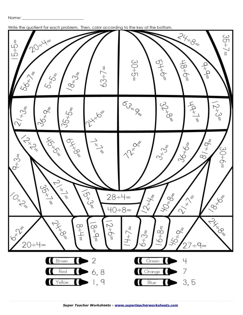 Multiplication Worksheets – Coloring.rocks!   Math Coloring