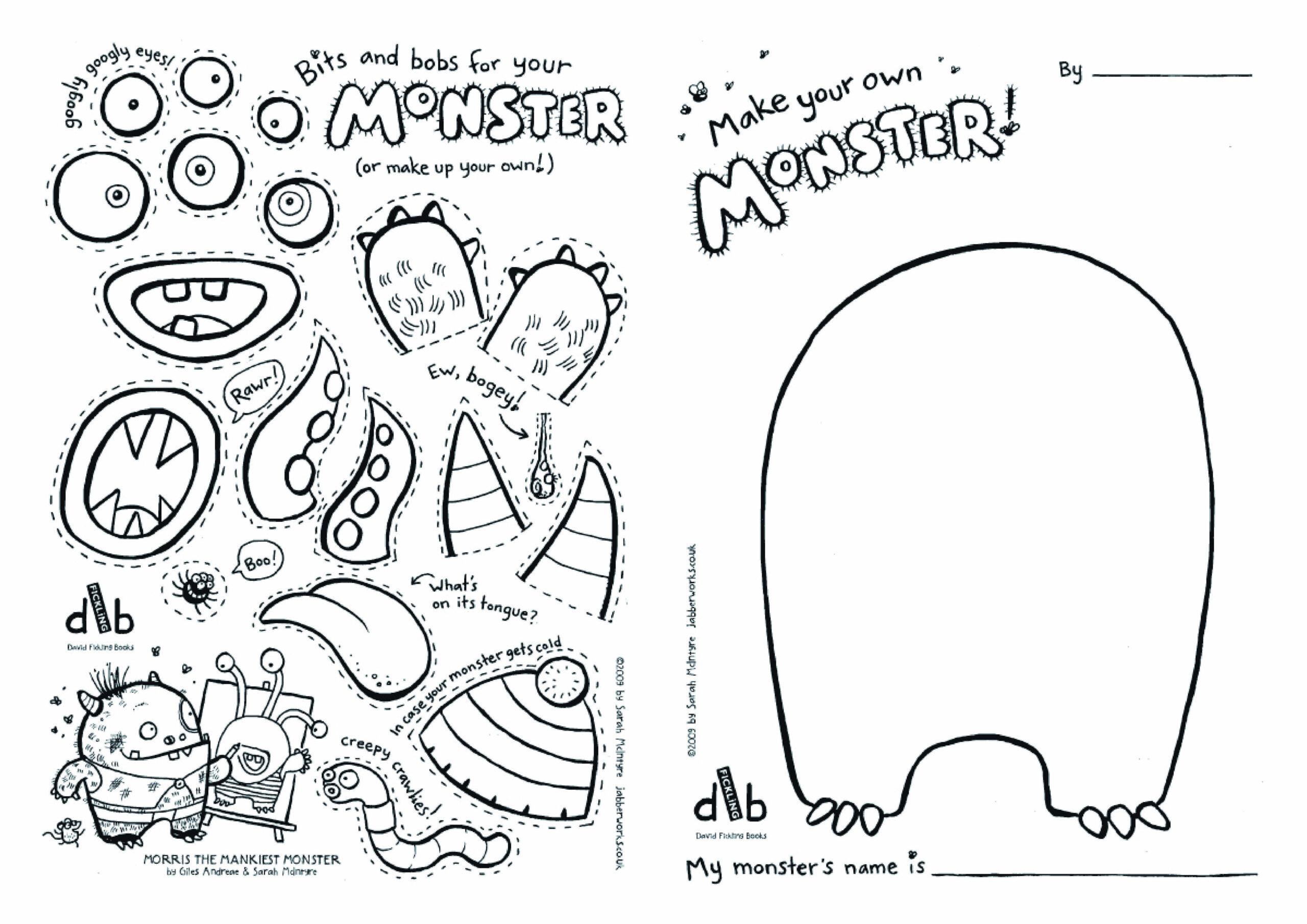 Pinstefanie Sims On ☂ Kids ☂ | Monster Activities