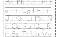Printable Alphabet Letters To Trace