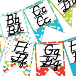 This Product Is A Printable Alphabet Banner With Both D