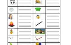 4 Letter Words Worksheets Pdf