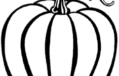 Best Pumpkin Outline Printable 22940 Clipartion