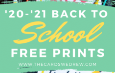 Free First Day Of School 2020 Printables Distance