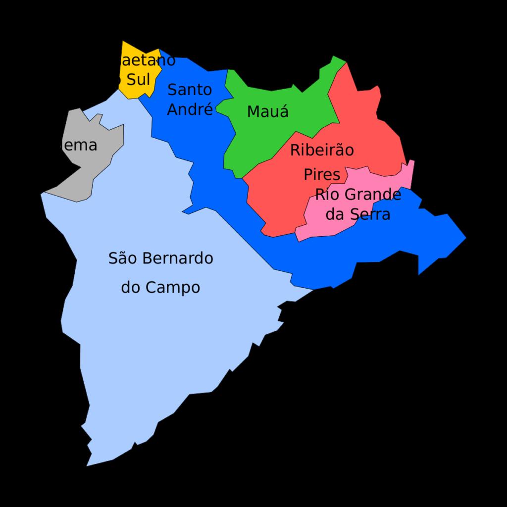 Regi O Do Grande ABC Wikip Dia A Enciclop Dia Livre
