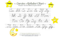 Cursive Handwriting Sheets A Z