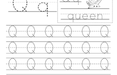Free Printable Letter Q Writing Practice Worksheet For