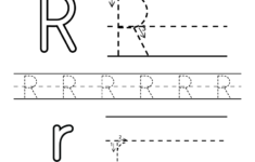 Free Printable Letter R Alphabet Learning Worksheet For