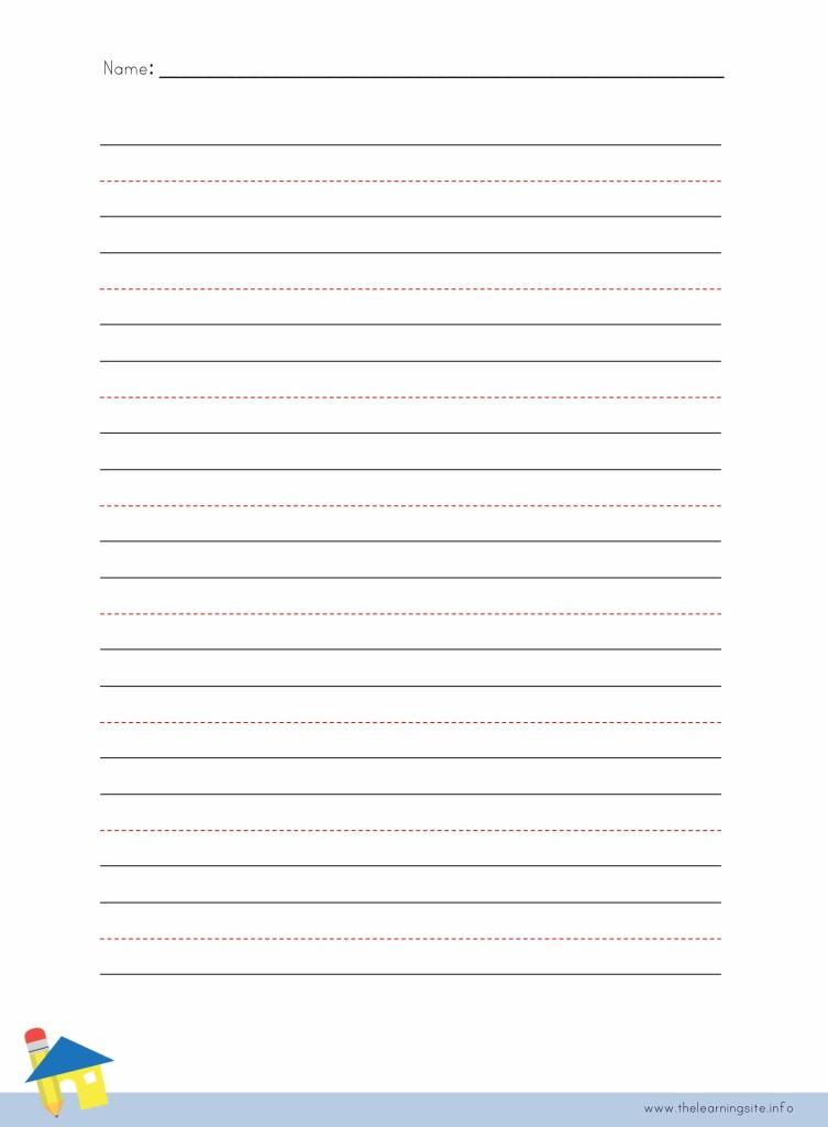 Handwriting Lines Worksheet A Worksheet Blog