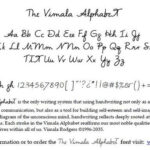 Handwriting Practice Vimala Alphabet Worksheets