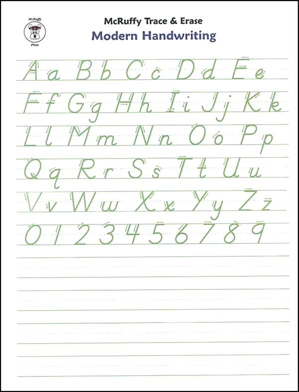 Handwriting Practice Worksheets Grade 2