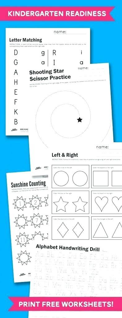 Handwriting Readiness Worksheet