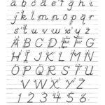 Image Result For D Nealian Handwriting Learn Handwriting