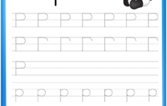 Letter P Is For Panda Handwriting Practice Worksheet