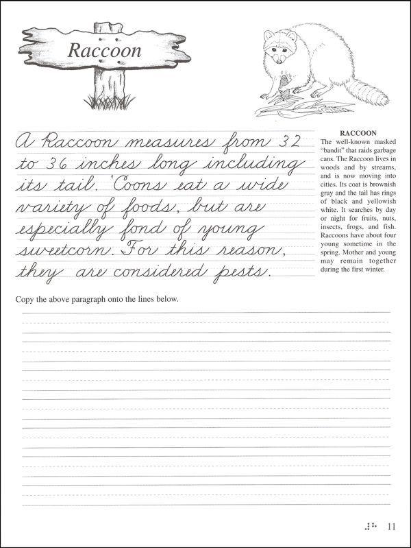 Pentime Cursive Grade 5 Additional Photo inside Page