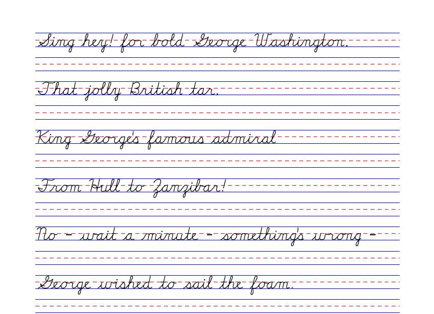 Poetry Handwriting Sheets Handwriting Sheets Classical