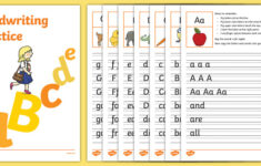 Practice Handwriting Worksheets Junior Senior Infants