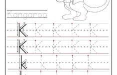 Printable Letter K Tracing Worksheets For Kindergarten
