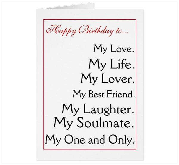 5 Birthday Card Designs Templates For Husband PSD AI