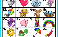 Alphabet Chart FREE Alphabet Activities Kindergarten