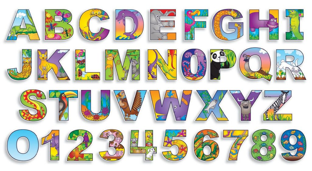 Free Printable Bulletin Board Letters Illustrated
