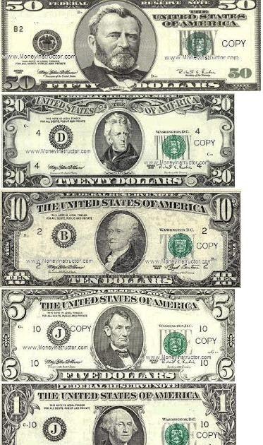 Printable Fake Money The Free Printable Fake Money