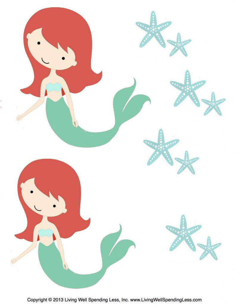 Small Mermaids Living Well Spending Less